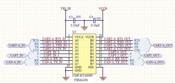 S100 Stacked Voltage Translator v1.0 Module VTranslator2.JPG