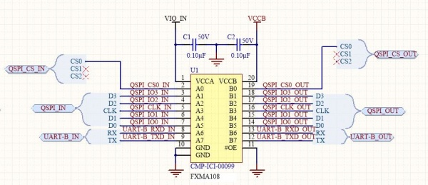 S100 Stacked Voltage Translator v1.0 Module VTranslator1.JPG